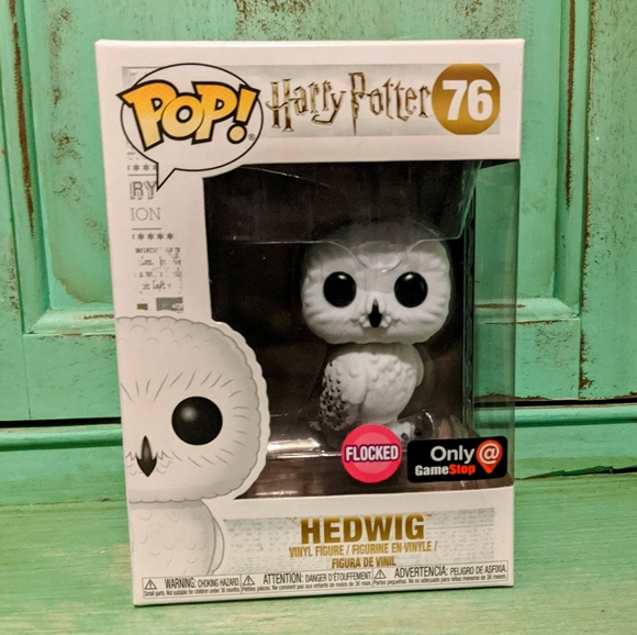 Funko Pop! Harry Potter Flocked Hedwig